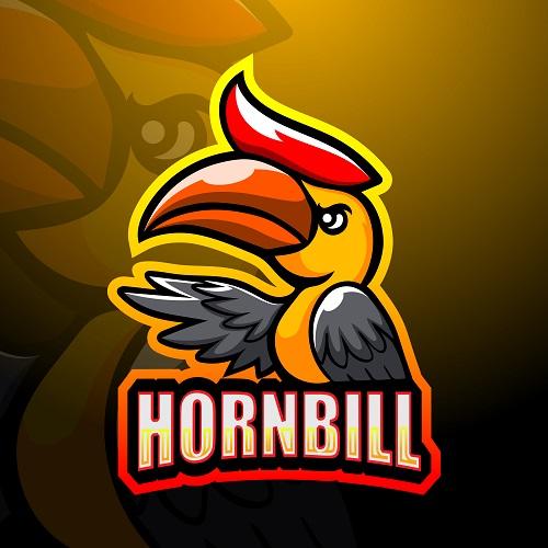 Hornbill Bird Logo Vector