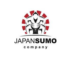 Japan Sumo Company Logo Vector
