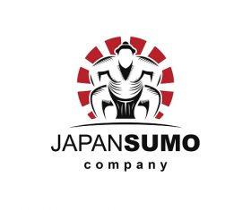 Japan Sumo Company Logo Vector