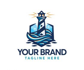 Light House Logo Vector