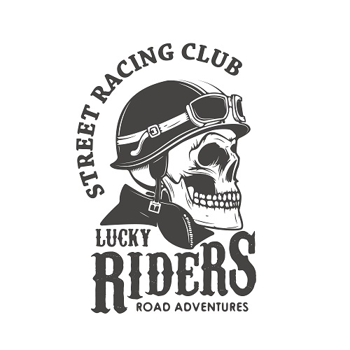 Lucky Riders Logo Vector