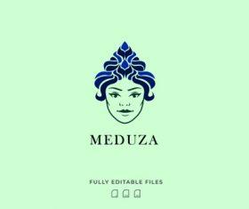 Medusa logo vector