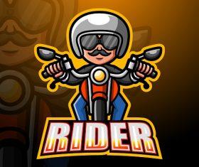 Rider Logo Vector