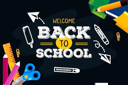 School Arts Back To School Background Vector