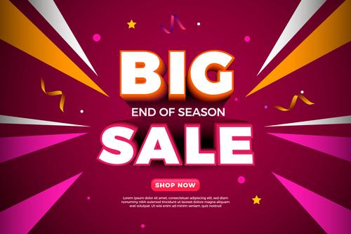 Shop now sales vector