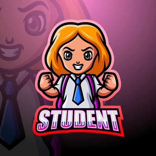 Student Logo Vector