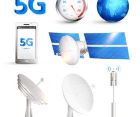 5G equipment vector