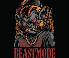 Beastmode logo vector