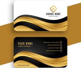 Business card design vector