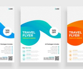 Business poster abstract concept banner vector