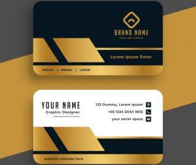 Fashion business card design vector