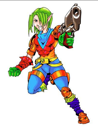 Gunman cartoon character vector