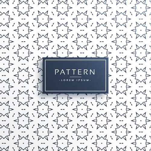 Hexagon seamless patterns vector