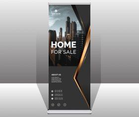 Housing agency brochure vector
