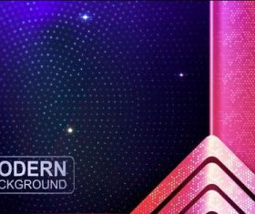 Modern background abstract vector
