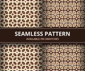 Seamless batik pattern vector