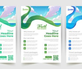 Sky background business poster banner vector