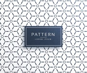 Solid line seamless patterns vector