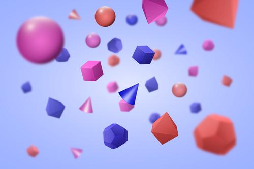 3D model template vector