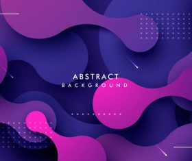 Abstract dynamic liquid background vector