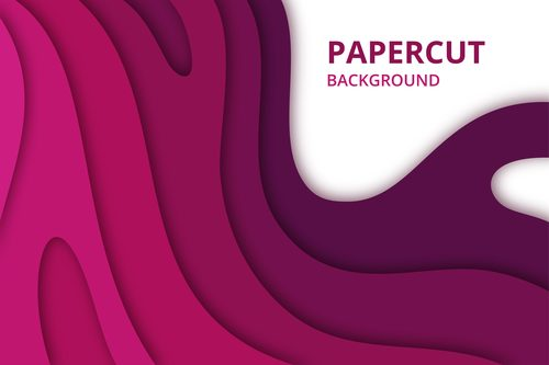 Abstract geometric lines background vector