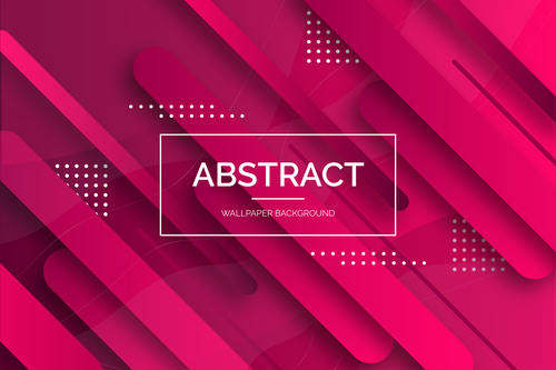 Background red abstract vector