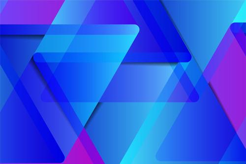 Blue gradient overlay graphic vector