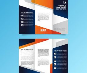 Business scope flyer vector