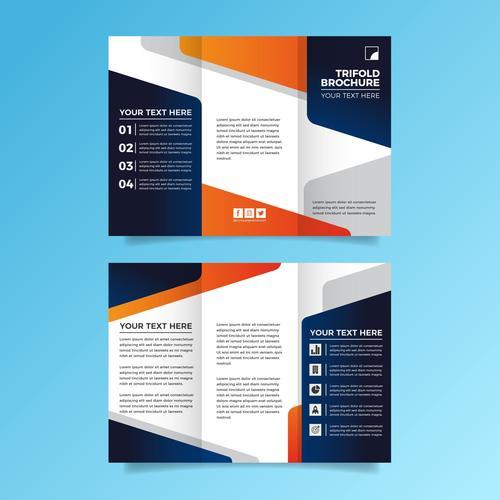 Business scope flyer vector