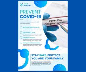 COVID-19 detection vector