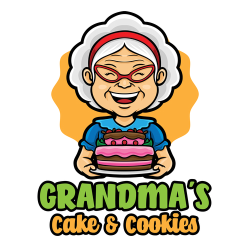 Cake cookies icon vector