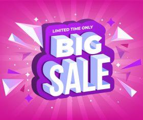 Cartoon sale background vector