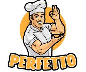 Chef vector icon