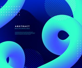 Curved liquid abstract background vector