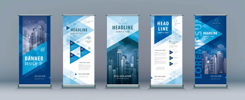 Finance business banner design vector