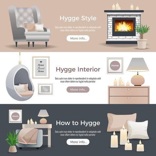 Interior decoration style vector