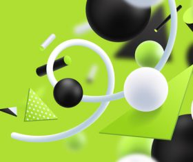 Jade green background 3D graphic vector