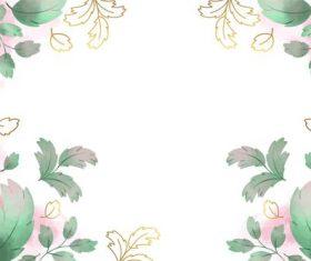 Leaf background vector