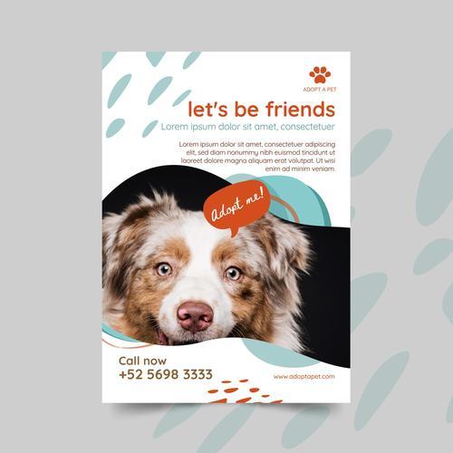 Lets be friends illustration vector