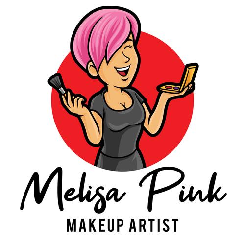 Makeup artist icon vector