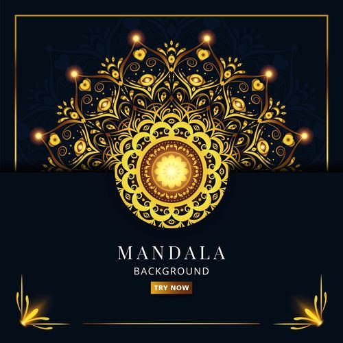 Mandala Bright Pattern Vector