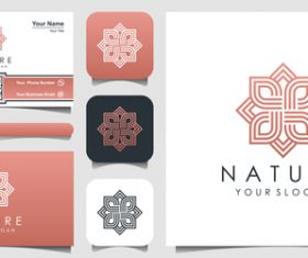 Nature logo and business card design