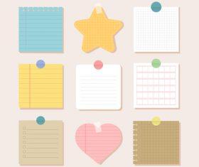 Notebook illustration vector