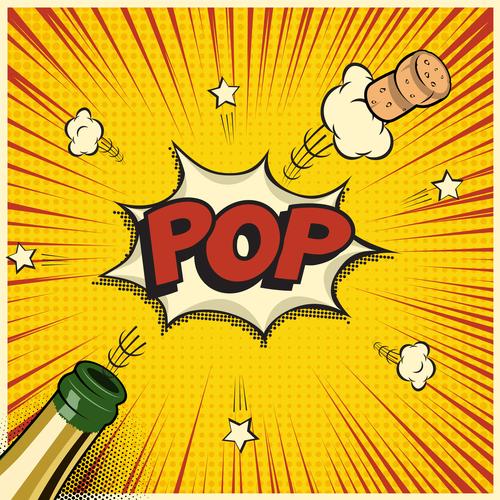 Pop art illustration vector