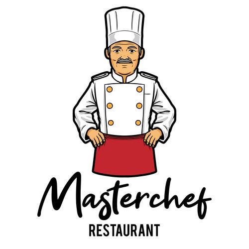 Restaurant chef vector icon
