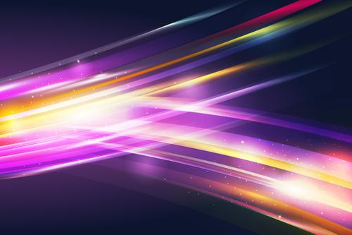 Seven color strips background vector
