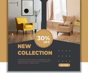 Single sofa special sale vector