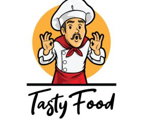 Tasty food vector icon