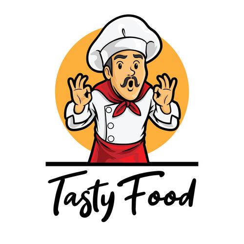 Tasty food vector icon