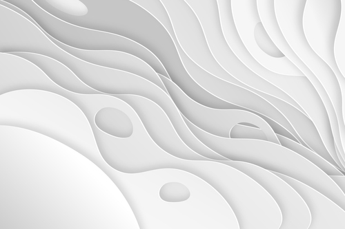 Texture paper cut abstract background vector